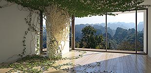 Interior Viz: Overgrovn