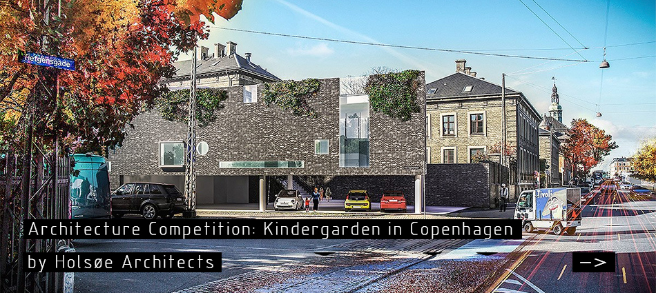 Architecture Competition: Kindergarden Copenhagen