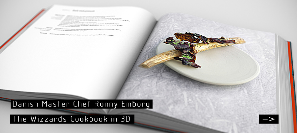 Book in 3D - Ronny Emborg: The Wizards Cookbook