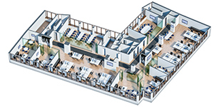 Office Interior Plan - PFA/Euroads