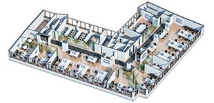 Office Interior Plan - PFA/Euroads