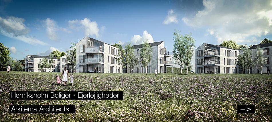 Henriksholm Boliger - Condos near Copenhagen