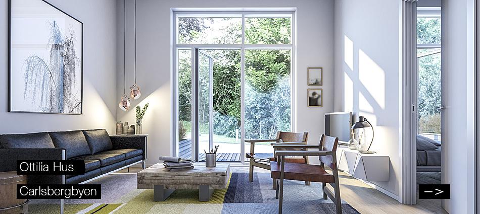 Carlsberg Byen - Ottilia Hus Apartments