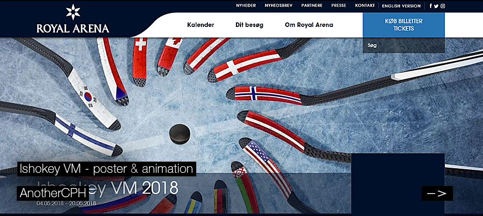 Ishockey VM - AnotherCPH - poster & animation
